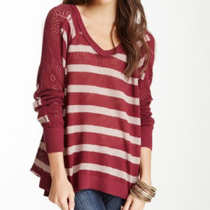 Free People Berry Sweater, Size Large